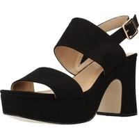 Chaussures Femme Sandales et Nu-pieds Different 64 8540 Noir