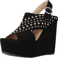 Chaussures Femme Sandales et Nu-pieds Different 64 8549 Noir