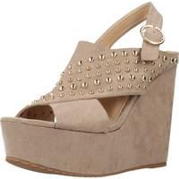 Chaussures Femme Sabots Different 64 8549 Brun