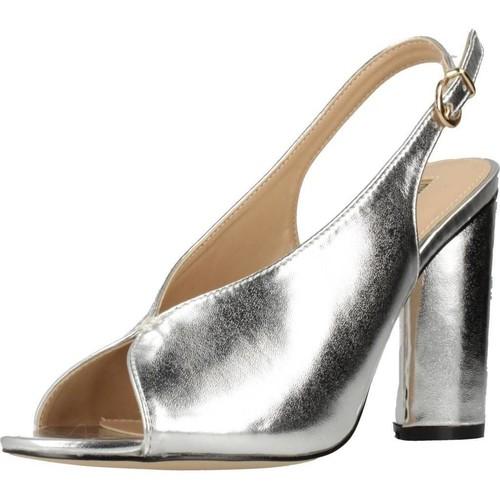 Chaussures Femme Sandales et Nu-pieds Different 64 8624 Argent