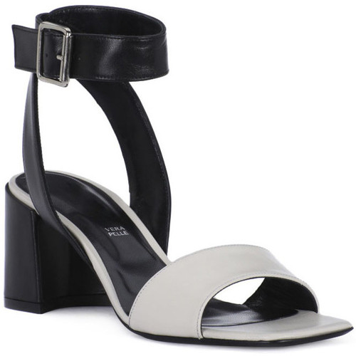 Chaussures Femme Sandales et Nu-pieds Priv Lab MILK SANDALO Bianco
