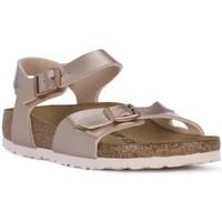 Chaussures Fille Sandales et Nu-pieds Birkenstock RIO METALLIC LILAC Grigio