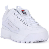 Chaussures Homme Baskets basses Fila DISRUPTOR LOW PATCHES Bianco