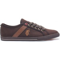 Chaussures Femme Baskets basses U.S Polo Assn. Ox Canvas Dkbr Wn Marron