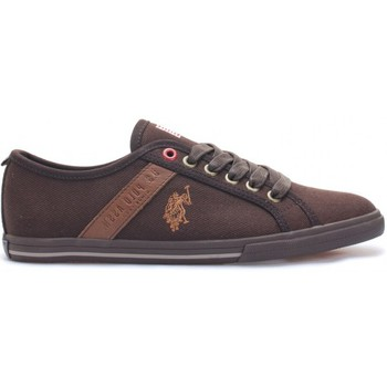 Baskets basses U.S Polo Assn. Ox Canvas Dkbr Wn