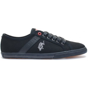 Chaussures Femme Baskets basses U.S Polo Assn. Ox Canvas Black Wn Noir