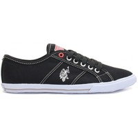 Chaussures Femme Baskets basses U.S Polo Assn. Ox Canvas Noir Wn Noir