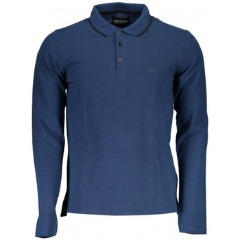 Polo Guess Polo homme Manches Longues Donald Navy M73P46