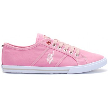 Chaussures Femme Baskets basses U.S Polo Assn. Ox Canvas Fushia Wn Rose