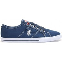 Chaussures Femme Baskets basses U.S Polo Assn. Ox Canvas Dkbl Wn Bleu