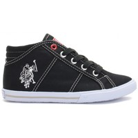 Chaussures Enfant Baskets montantes U.S Polo Assn. Hi Canvas Black Kid Noir
