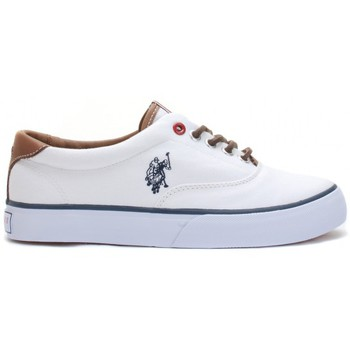Chaussures Femme Baskets basses U.S Polo Assn. Ox Folk1 White Wn Blanc