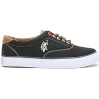 Chaussures Femme Baskets basses U.S Polo Assn. Ox Folk1 Black Wn Noir