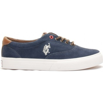 Chaussures Femme Baskets basses U.S Polo Assn. Ox Folk2 Denim Wn Bleu