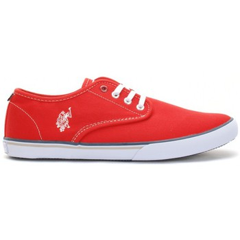 U.S Polo Assn. Homme Ox Canvas Rouge