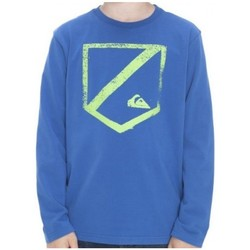 Vêtements Garçon T-shirts manches longues Quiksilver T-Shirt Garçon Garçon KKBJE952 Bleu 19
