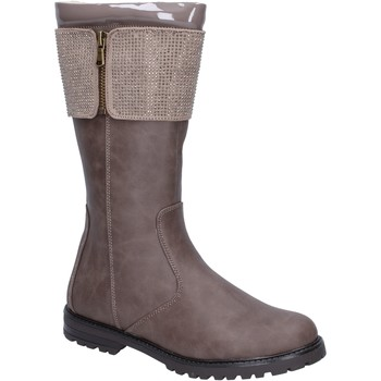 Chaussures Fille Bottes ville It's For You BR544 Beige