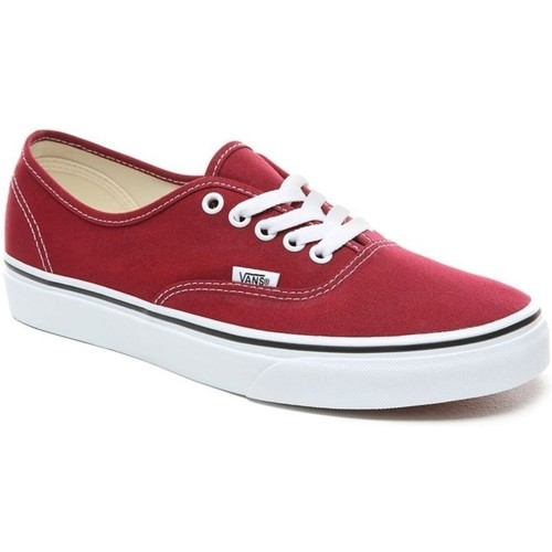 Chaussures Femme Baskets basses Vans UA Authentic rouge