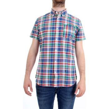 Vêtements Homme Chemises manches courtes Woolrich WOCAM0698 Chemise homme multicolore multicolore