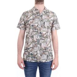 Vêtements Homme Chemises manches courtes Xacus 41540 001 Chemise homme beige beige