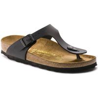 Chaussures Femme Tongs Birkenstock Gizeh bf Noir