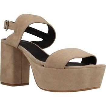 Chaussures Femme Sandales et Nu-pieds Angel Alarcon 17596 286 Beige