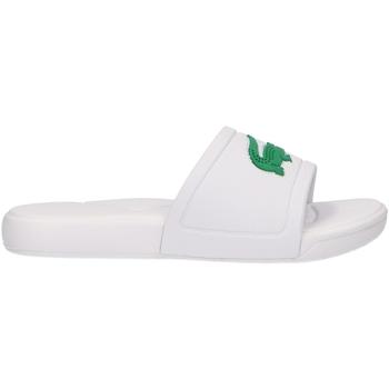 Chaussures Enfant Mules Lacoste 37CUC0011 L30 SLIDE Blanco