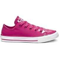 Chaussures Baskets basses Converse ctas leather - ox rose