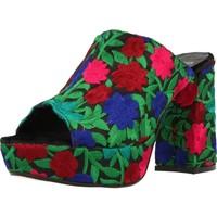 Chaussures Femme Mules Lab 72477 Multicolore