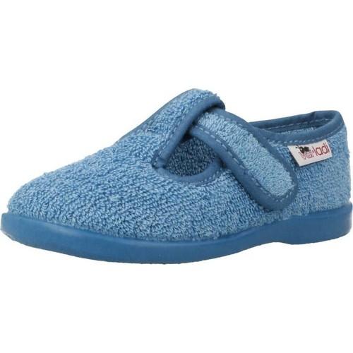 Chaussures Garçon Chaussons bébés Vulladi 3112 052 Bleu