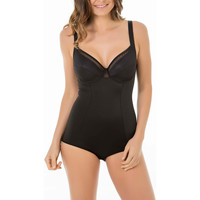 Sous-vêtements Femme Bodys Selmark Body modelant armaturé Adriana  noir Noir