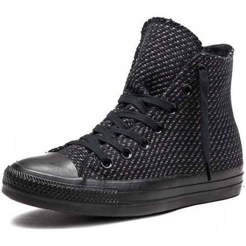 Chaussures Baskets montantes Converse chuck taylor as hi noir
