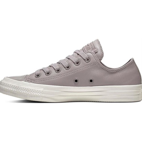 Chaussures Femme Baskets basses Converse ct all star lth ox gris