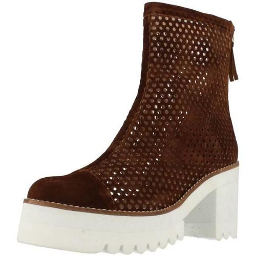 Chaussures Femme Boots Vo SARAV Marron