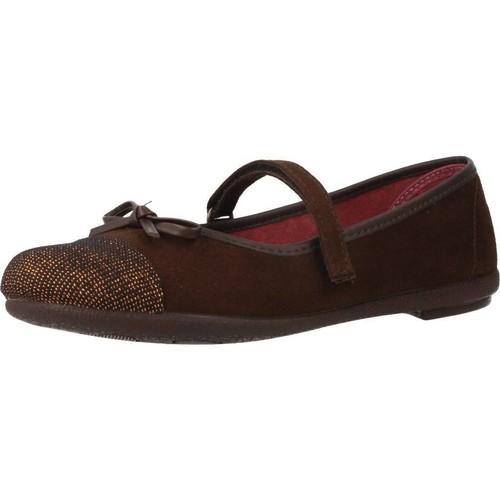 Chaussures Fille Derbies & Richelieu Duvic 6229 Marron