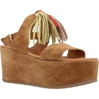 Chaussures Femme Sandales et Nu-pieds Alpe 3424 11 Marron