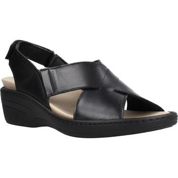 Chaussures Femme Sandales et Nu-pieds Pinoso's 70910 Noir