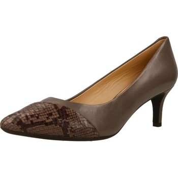 Chaussures Femme Escarpins Geox D ELINA Marron