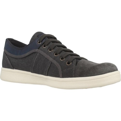 Chaussures Homme Baskets basses Geox U WARRENS Bleu