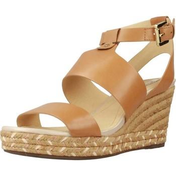 Chaussures Femme Espadrilles Geox D SOLEIL Marron