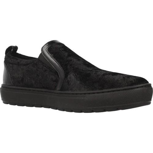 Chaussures Femme Slip ons Geox D BREEDA Noir