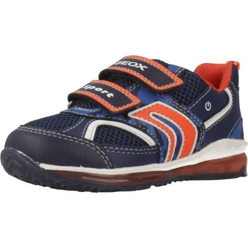 Chaussures Garçon Baskets basses Geox B9284A Bleu