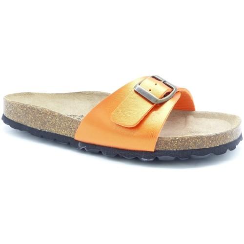 Chaussures Femme Mules Maison De Lespadrille 3506 ORANGE