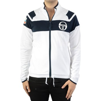 Vêtements Homme Sweats Sergio Tacchini Coiler/MC/Staff Tracktop 37996 White/Navy