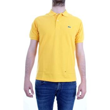 Vêtements Homme Polos manches courtes Lacoste L.12.64 polo homme jaune jaune