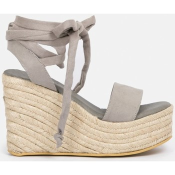 Chaussures Femme Espadrilles By Peppas C MACAO Gris