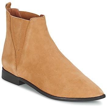Bottines / Boots Jeffrey Campbell HARVELL Camel 350x350