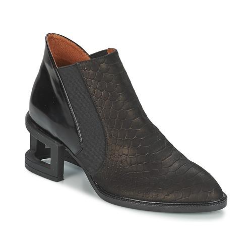 Bottines / Boots Jeffrey Campbell DUVAL Noir 350x350