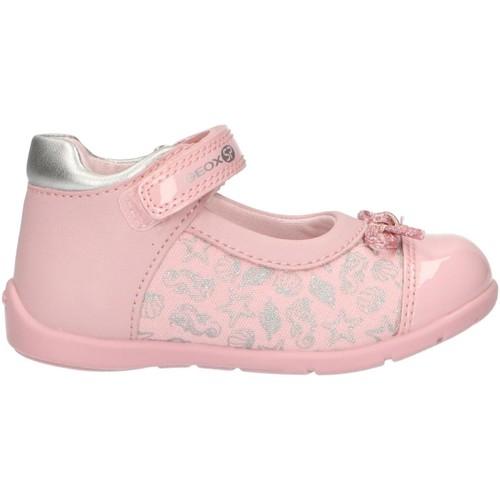 Chaussures Fille Derbies & Richelieu Geox B821QC 010AJ B ELTHAN Rosa