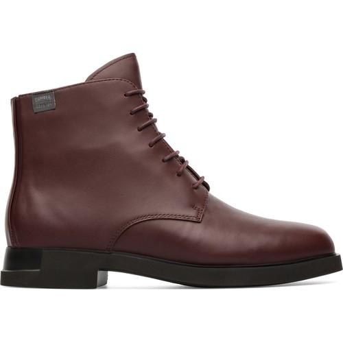 Chaussures Femme Boots Camper Iman K400342-002 Bottes Femme bourgogne